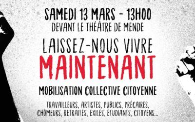 Mobilisation collective Samedi 13 mars à Mende