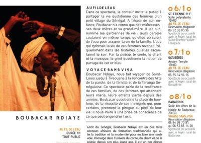 Boubacar Ndiaye / Festival Contes & Rencontres