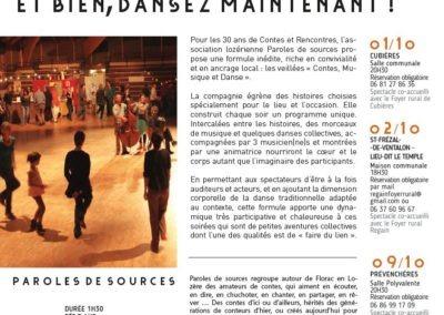 Paroles de Sources / Festival Contes & Rencontres