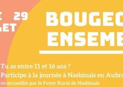 Jeudi 29 juillet: Bougeons Ensemble à Nasbinals